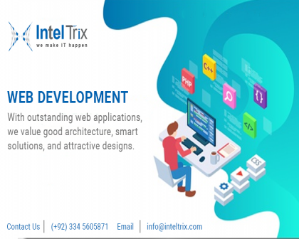 Web Designing Development Company in Lahore | Inteltrix